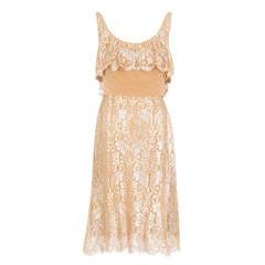 Dior Haute Couture Lace Dress, Autumn Winter 1961