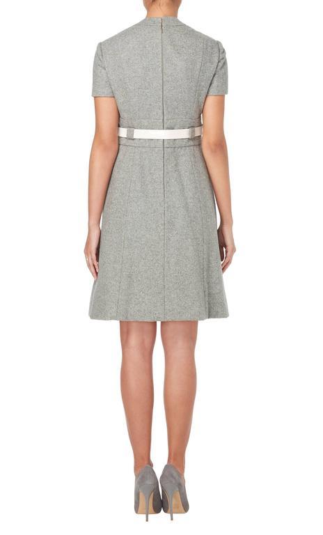 Geoffrey Beene grey dress, circa 1965 3