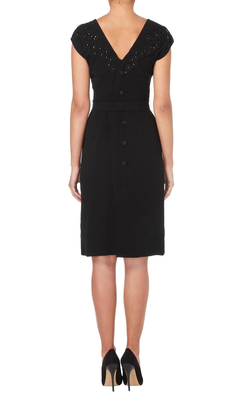 Balenciaga haute couture black dress circa 1940 for sale for Haute couture sale