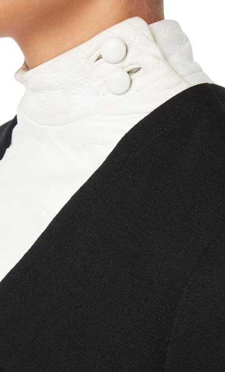 Pierre Cardin black dress, circa 1967 In Excellent Condition For Sale In London, GB