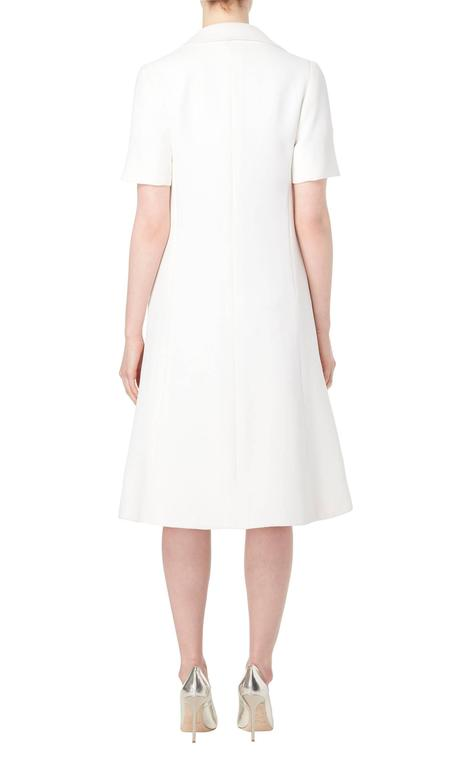 Jean Patou white dress & coat, circa 1968 5