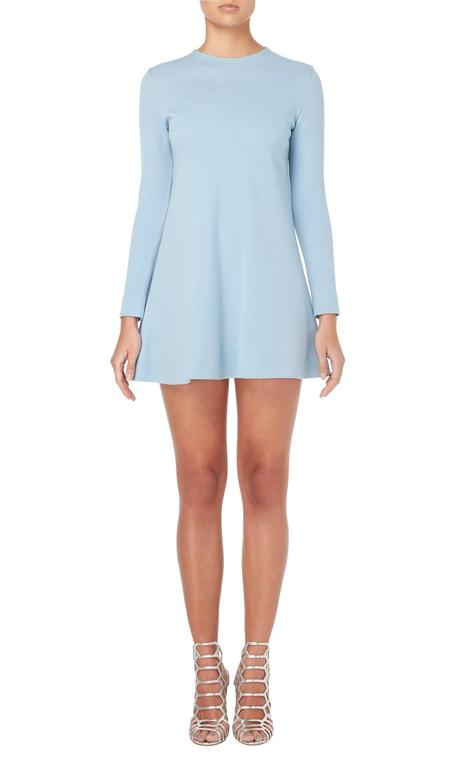 Rudi Gernreich blue dress, circa 1965 2