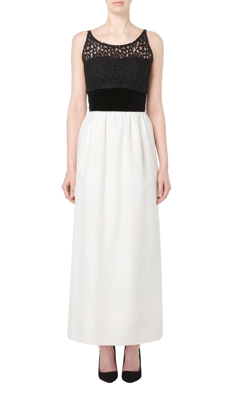 Jacques heim haute couture black and white dress circa for Haute couture sale