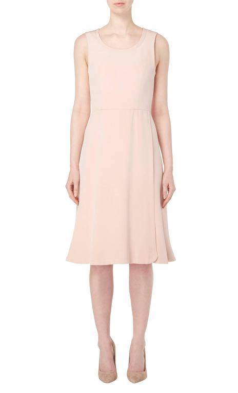 White Guy Laroche Haute couture pink dress suit, circa 1970 For Sale