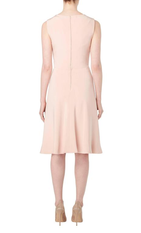 Guy Laroche Haute couture pink dress suit, circa 1970 In Excellent Condition For Sale In London, GB
