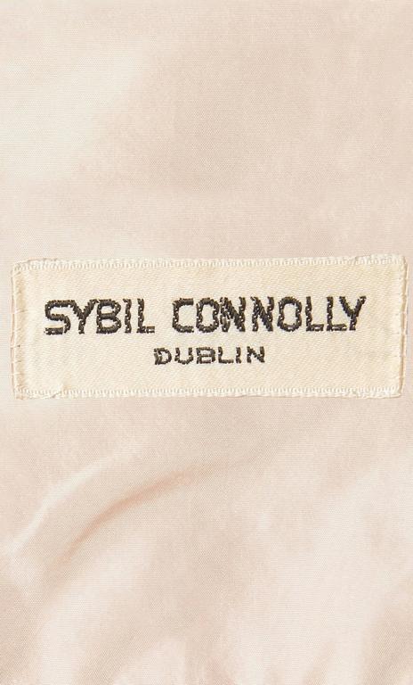 Sybil Connolly orange top and skirt, circa 1958 5