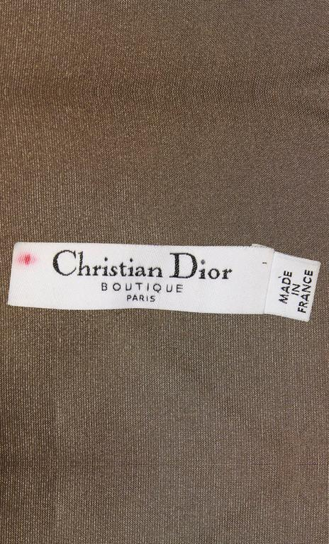 Women's Dior brown dress, circa 2003 For Sale