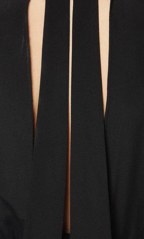 Jean Patou haute couture black dress, Autumn/Winter 1932 In Excellent Condition For Sale In London, GB