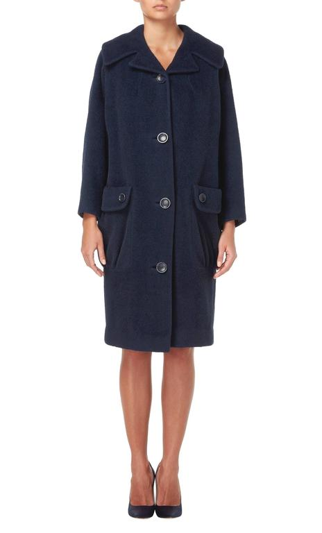 Pierre Cardin navy coat, circa 1959 2