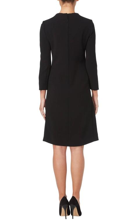 Galanos black dress, circa 1967 3