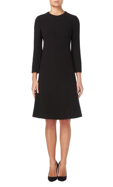 Galanos black dress, circa 1967 2