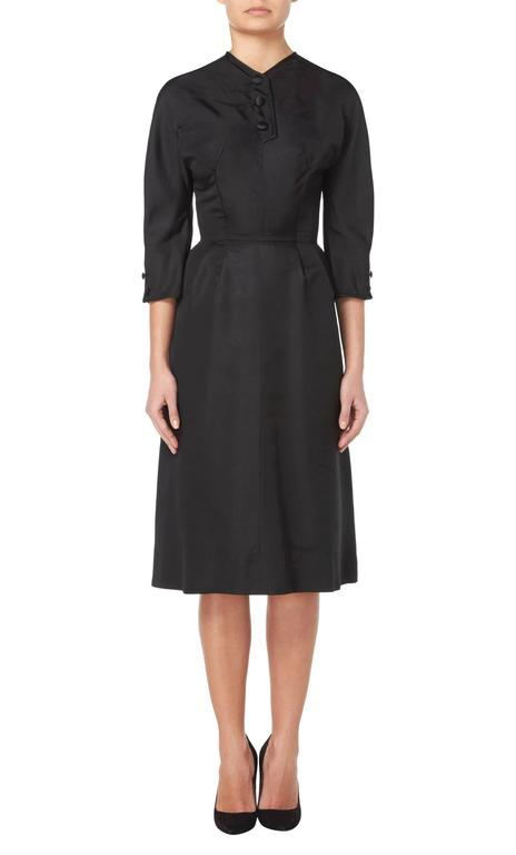 Hattie Carnegie black dress, circa 1963 2