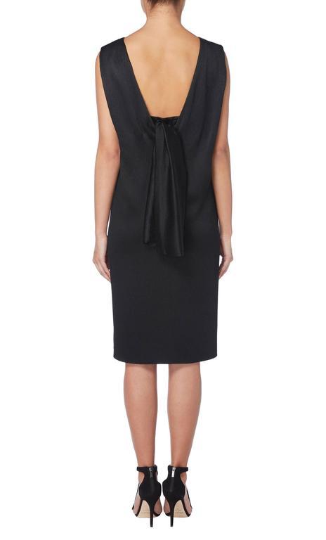 Balenciaga haute couture black dress, Spring/Summer 1965 3