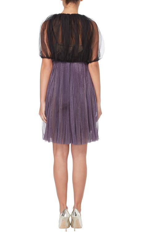 Lanvin purple dress & bolero, Autumn/Winter 2005 5