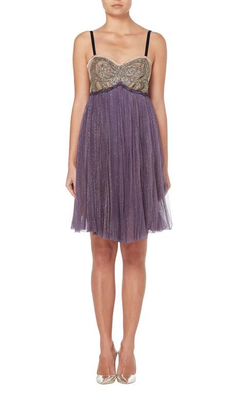 Lanvin purple dress & bolero, Autumn/Winter 2005 2