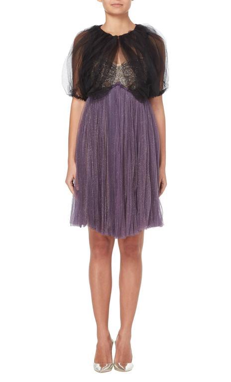 Lanvin purple dress & bolero, Autumn/Winter 2005 4