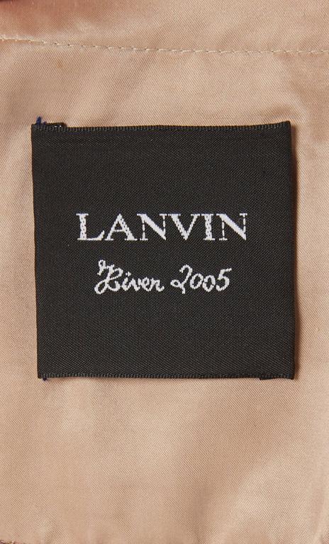 Lanvin purple dress & bolero, Autumn/Winter 2005 7
