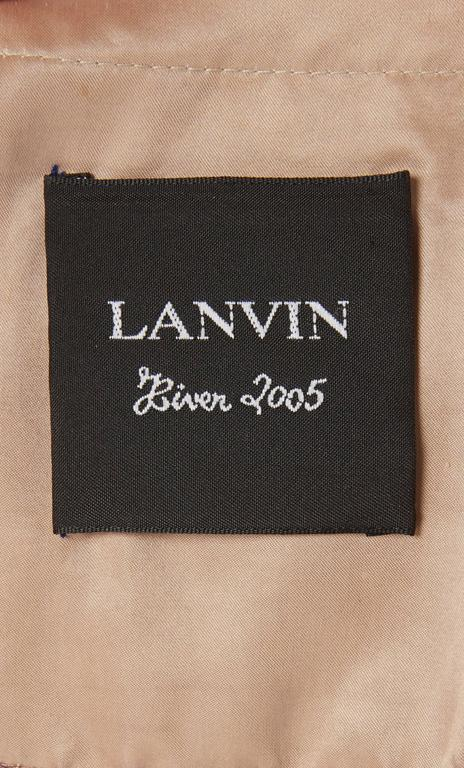 Lanvin purple dress & bolero, Autumn/Winter 2005 8