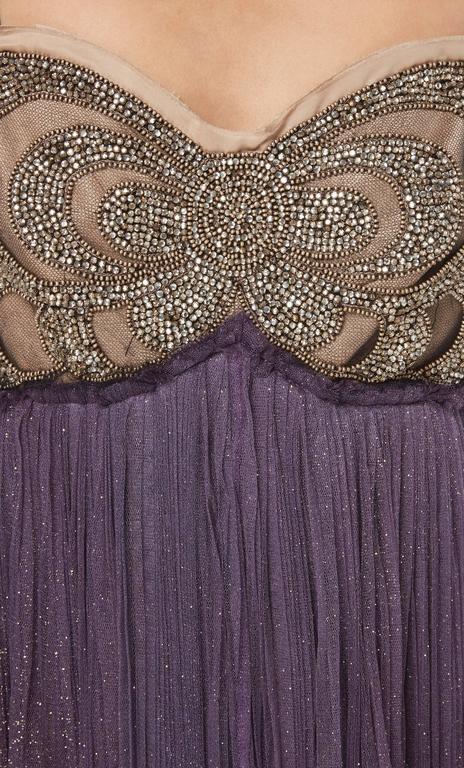Lanvin purple dress & bolero, Autumn/Winter 2005 6