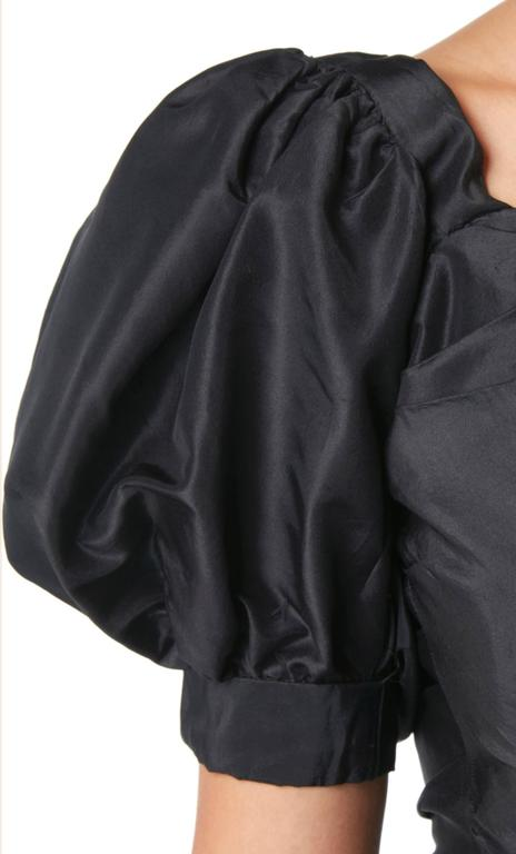 Ceil Chapman black dress, circa 1958 In Excellent Condition For Sale In London, GB