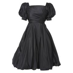 Ceil Chapman black dress, circa 1958