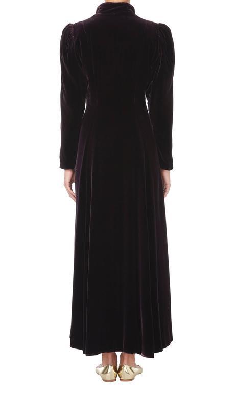 Valentina purple evening coat, circa 1932 3