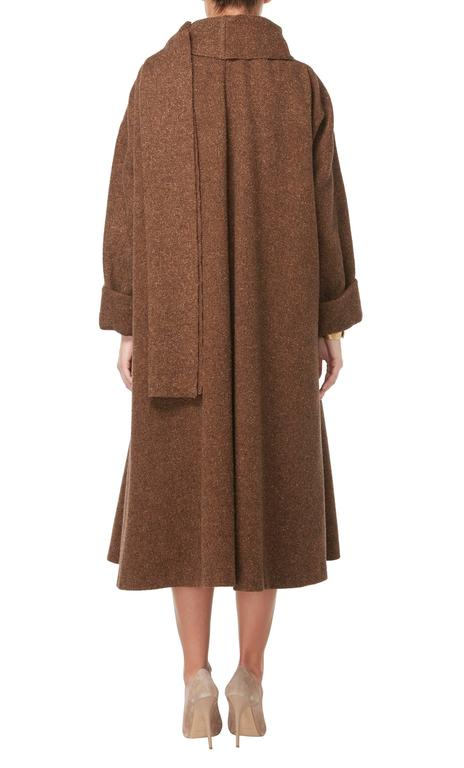 Guy laroche haute couture brown skirt suit circa 1957 for for Haute couture suits