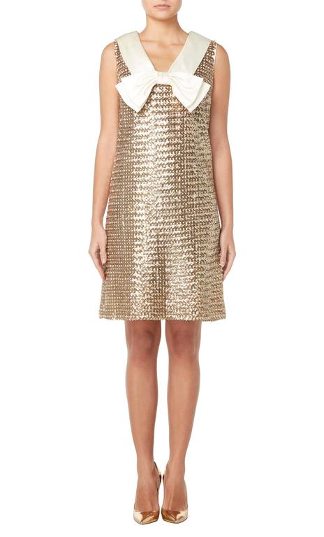 Great Unknown gold sequin dress, circa 1965 2