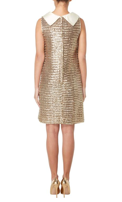 Great Unknown gold sequin dress, circa 1965 3