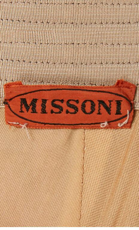 Women's Missoni multicoloured skirt, circa 1975 For Sale