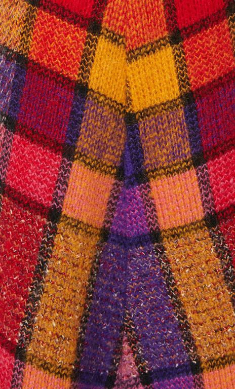 Missoni multicoloured skirt, circa 1975 In Excellent Condition For Sale In London, GB