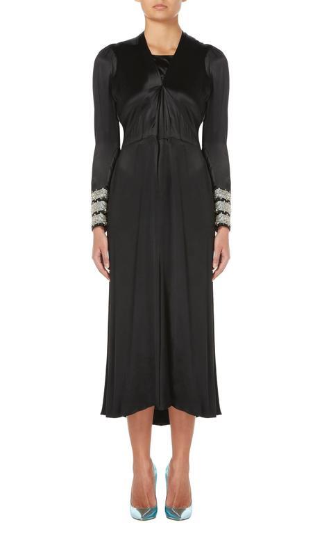 Lanvin haute couture black dress, Spring/Summer 1938 2