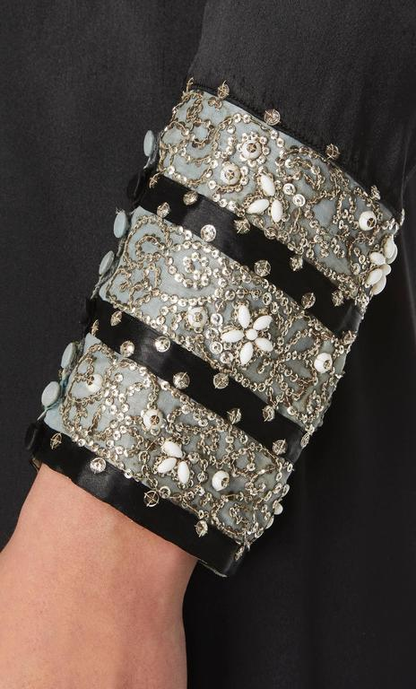 Lanvin haute couture black dress, Spring/Summer 1938 4
