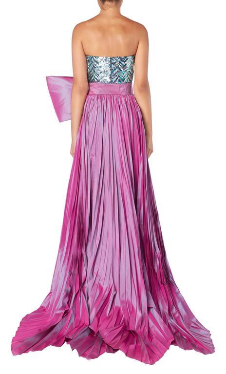 Pierre Cardin haute couture sequin gown, 1991 5