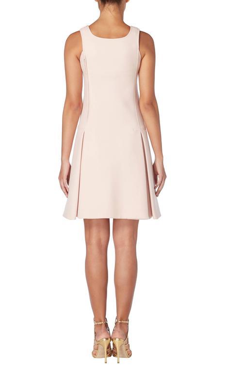 Courrèges haute couture pink dress, circa 1966 3