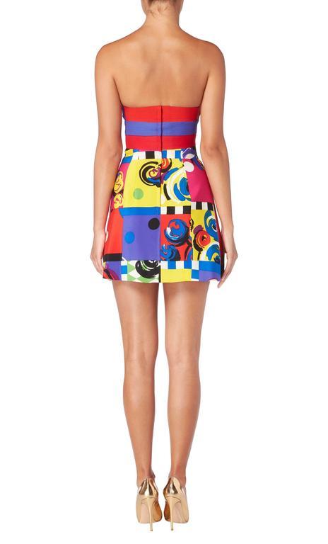 Versace Print dress, Spring/Summer 1991 4