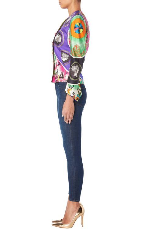 Versace Multicoloured Jacket, Spring/Summer 1991 3