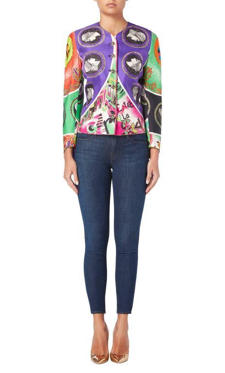 Versace Multicoloured Jacket, Spring/Summer 1991 2