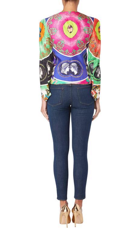 Versace Multicoloured Jacket, Spring/Summer 1991 4
