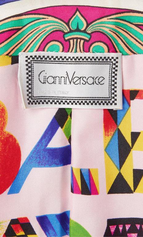 Versace Multicoloured Jacket, Spring/Summer 1991 6