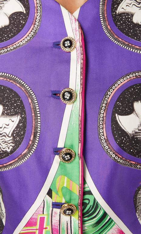 Versace Multicoloured Jacket, Spring/Summer 1991 5