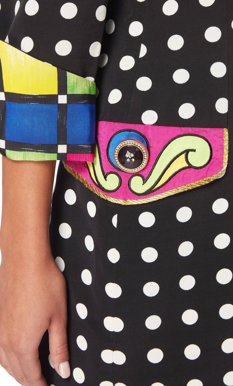Versace polka dot dress and jacket, Spring/Summer 1991 at ...