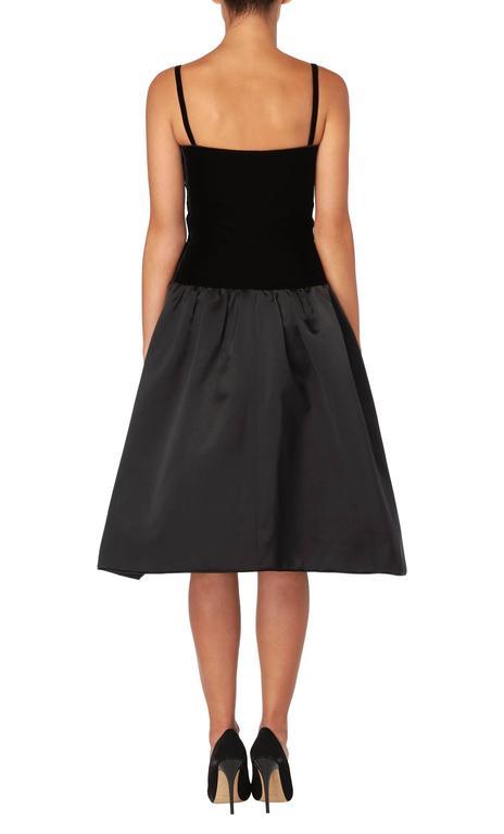 Yves Saint Laurent haute couture black dress, Autumn/Winter 1979 3