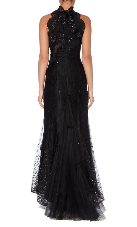 Christian Lacroix haute couture black gown, Autumn/Winter 1995 3