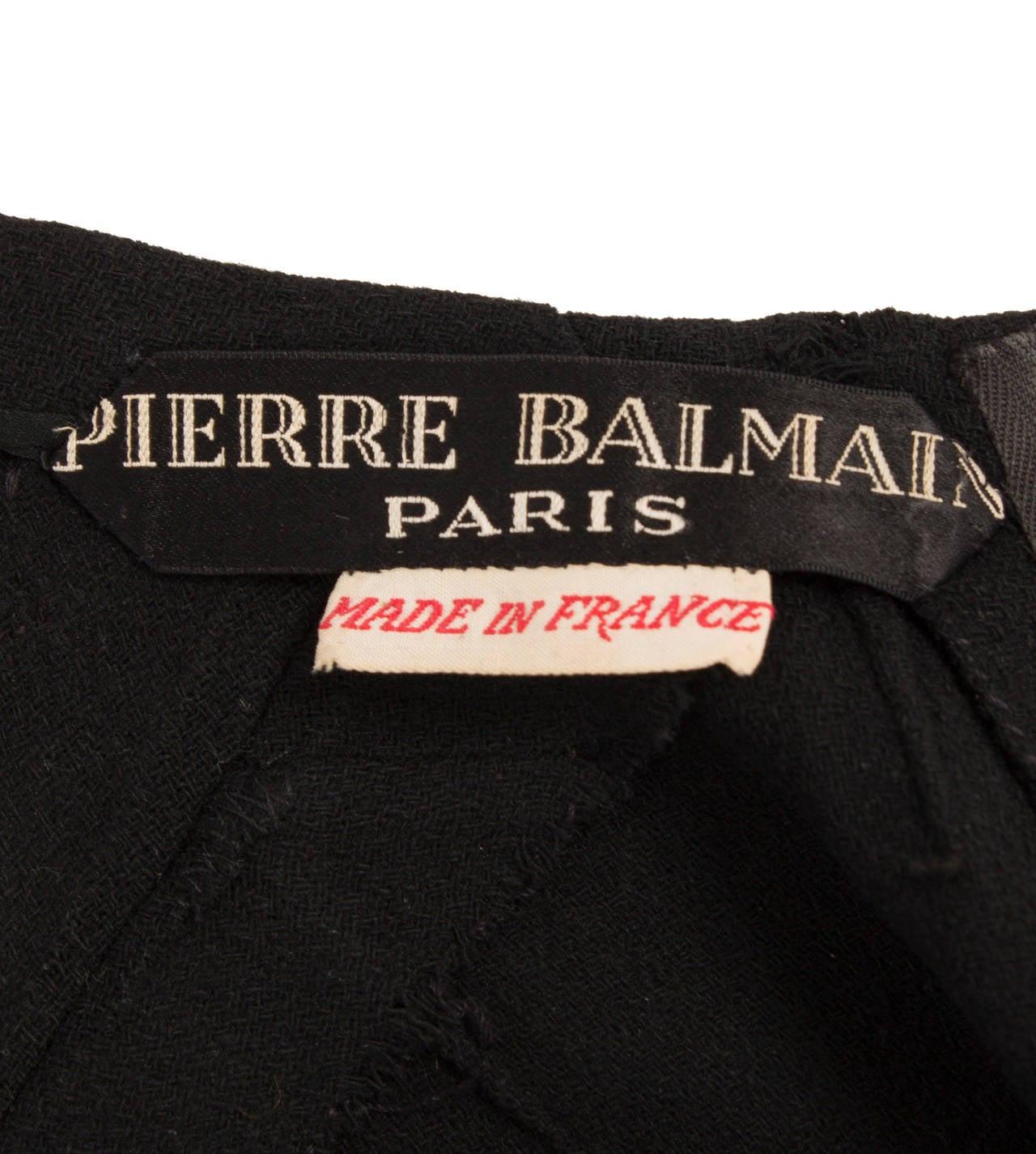 A Pierre Balmain haute couture dress, autumn winter 1948 4