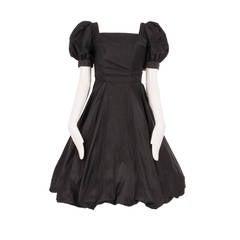Ceil Chapman Black Silk dress, Circa 1958