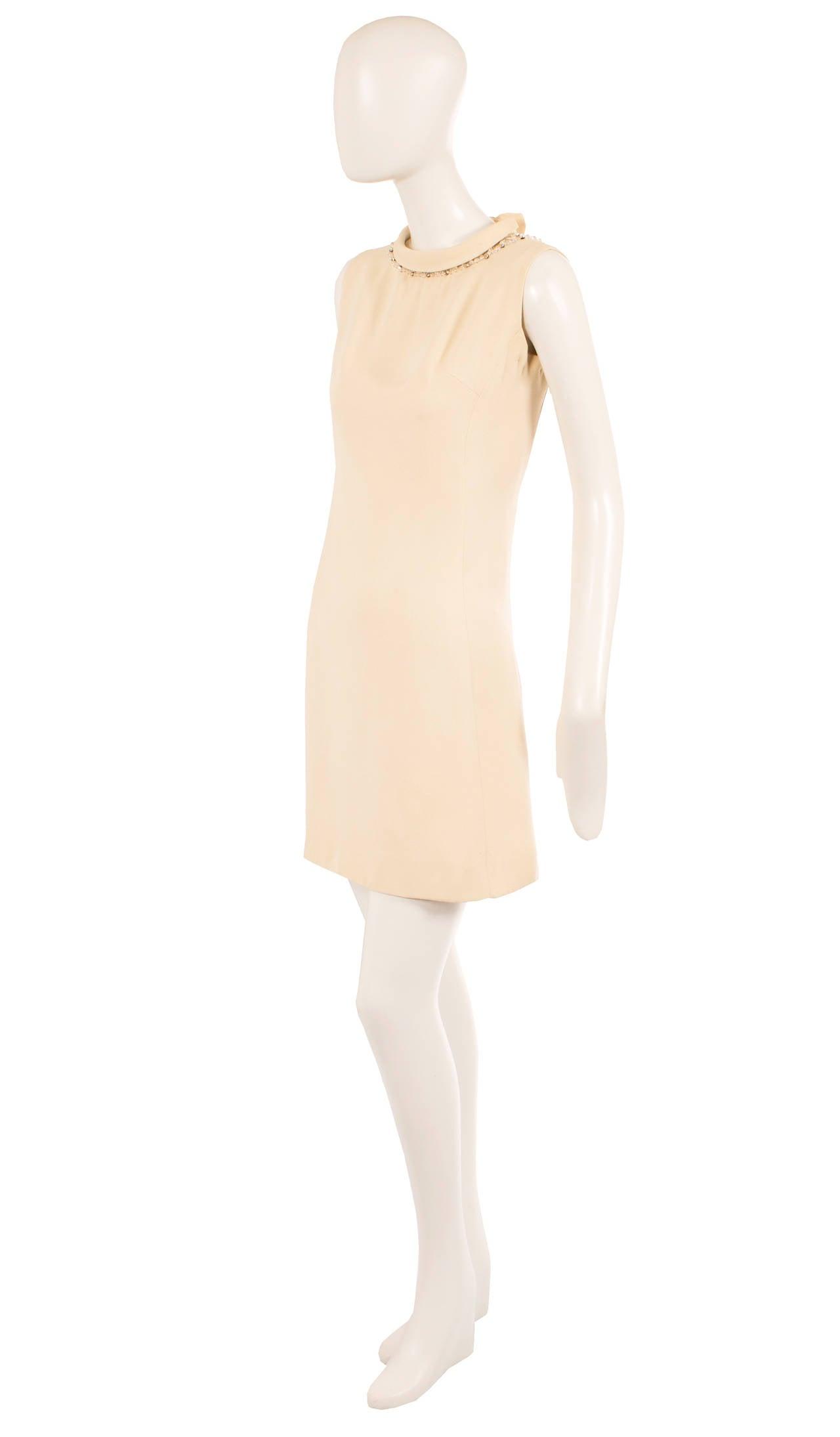 A Carven haute couture dress, circa 1967 3