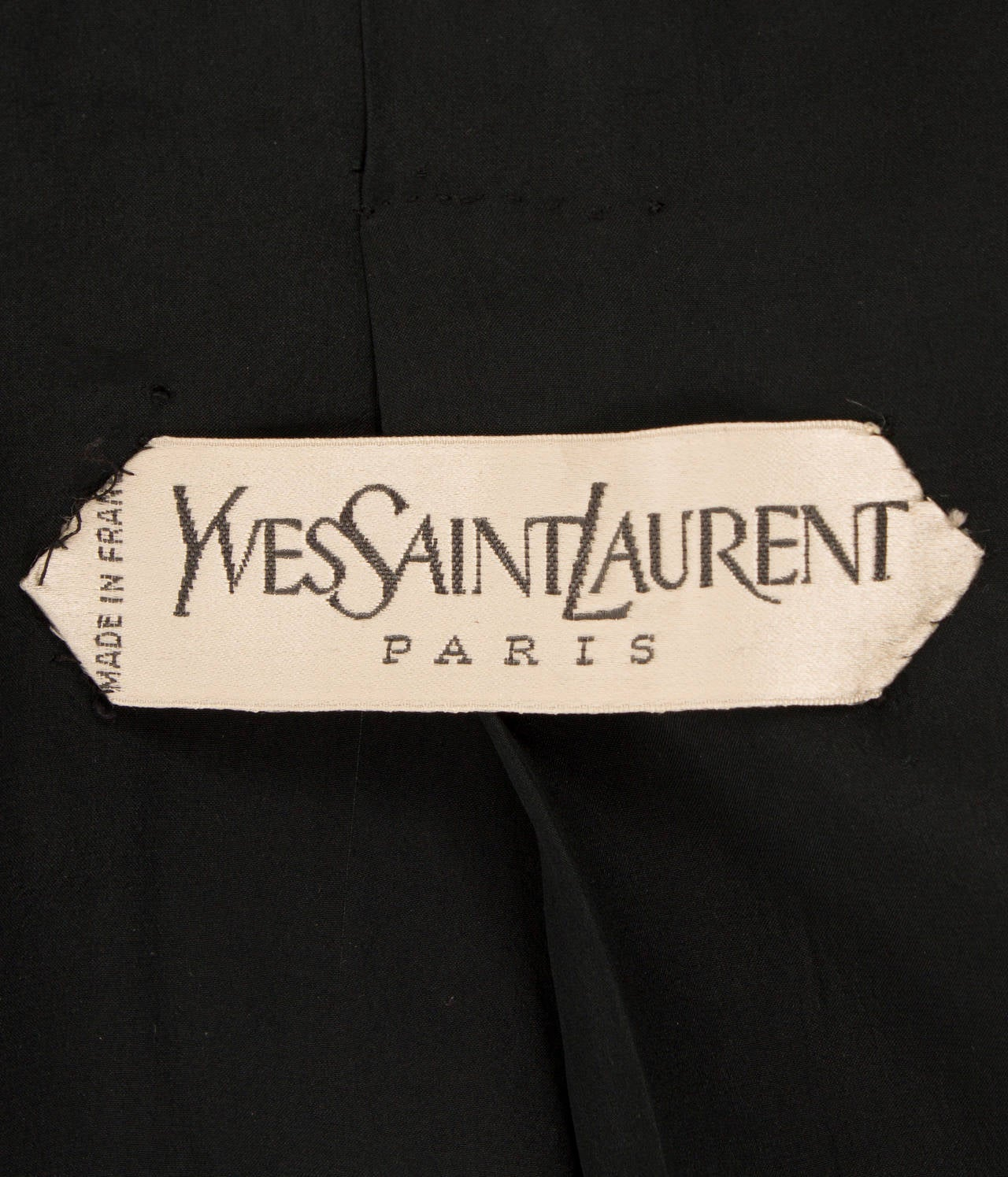 Yves saint laurent haute couture wool jacket circa 1964 for Haute couture labels