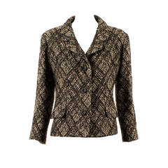 Yves Saint Laurent haute couture wool jacket, circa 1964