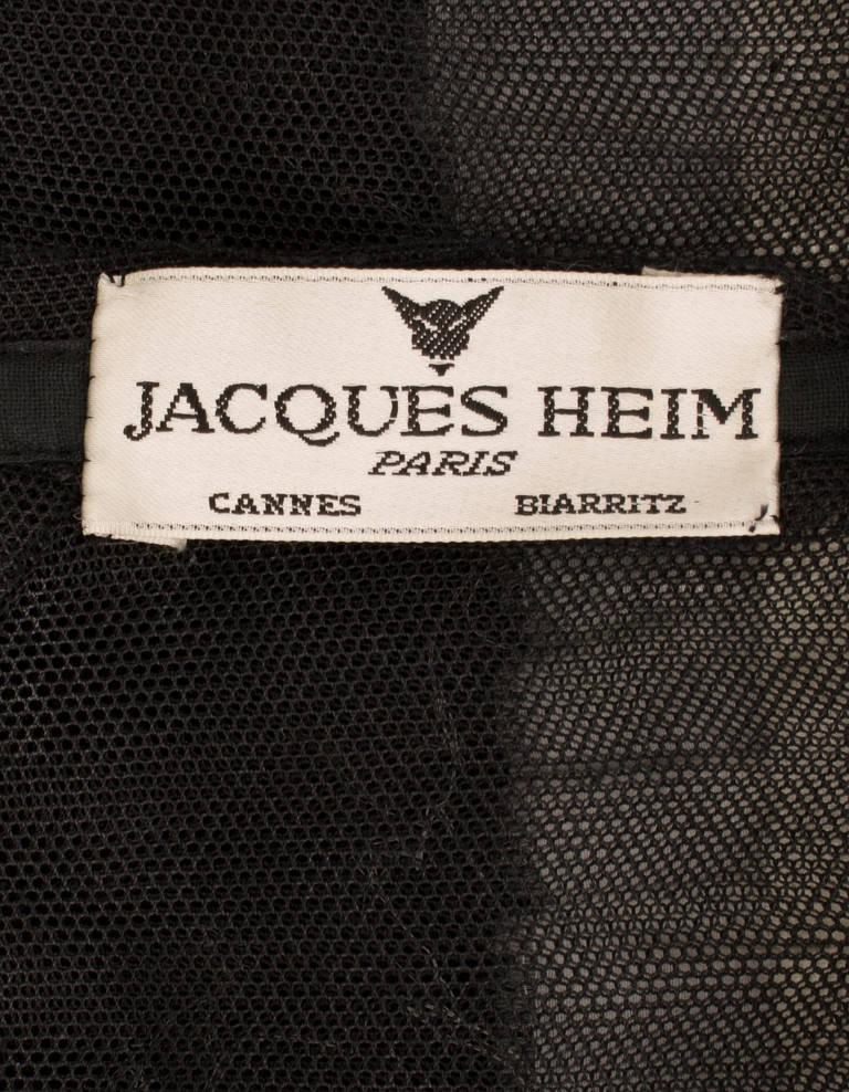 Jacques Heim Monochrome Dress, Circa 1960 5